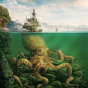 Mitos Kraken - Sang Penguasa Lautan 01